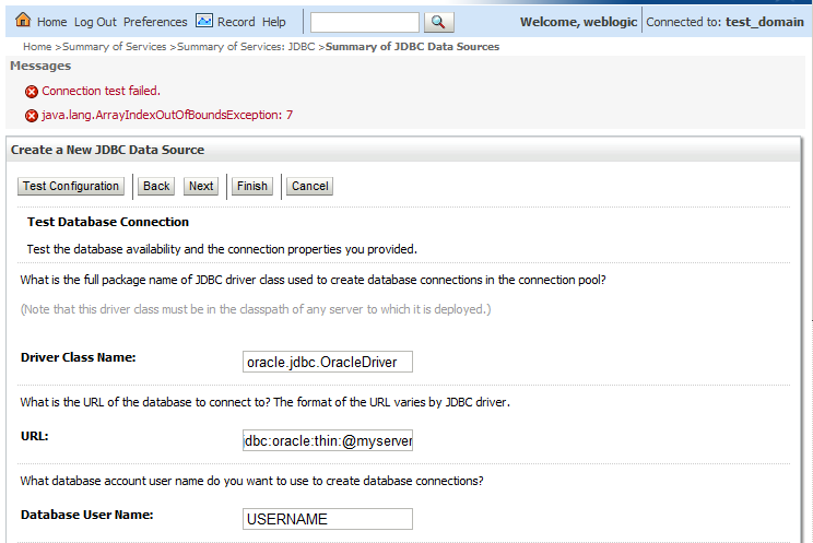Weblogic and different version Oracle JDBC driver | J@n van Zoggel