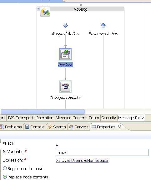 Modifying namespaces in the Oracle Service Bus | J@n van Zoggel