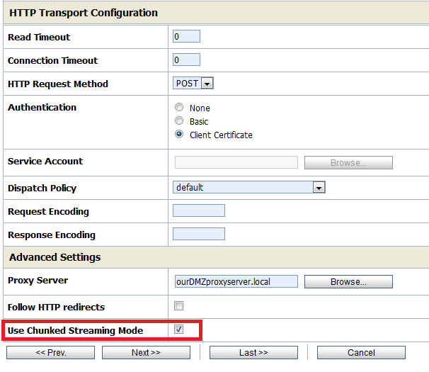 "Buffer underflow in doHandshake"" SSL error in Oracle Service Bus | J"