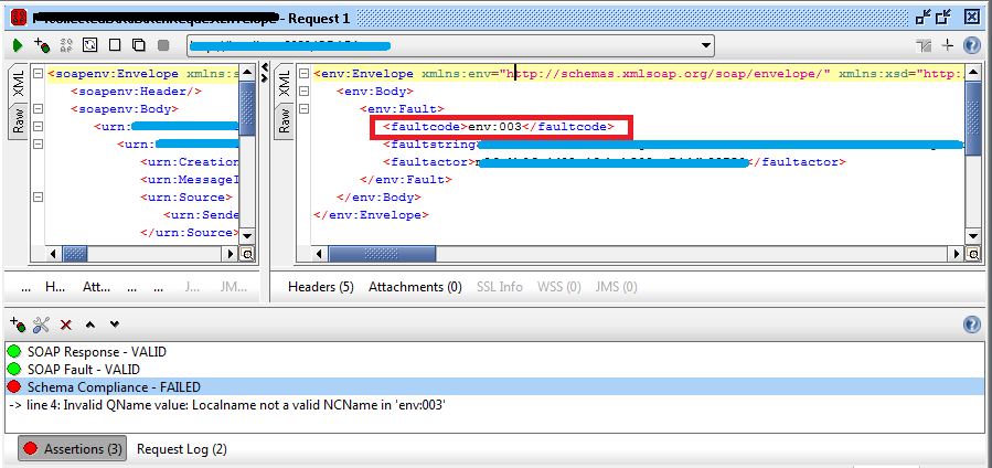 Receive empty SOAP response in Oracle Service Bus (invalid SOAP