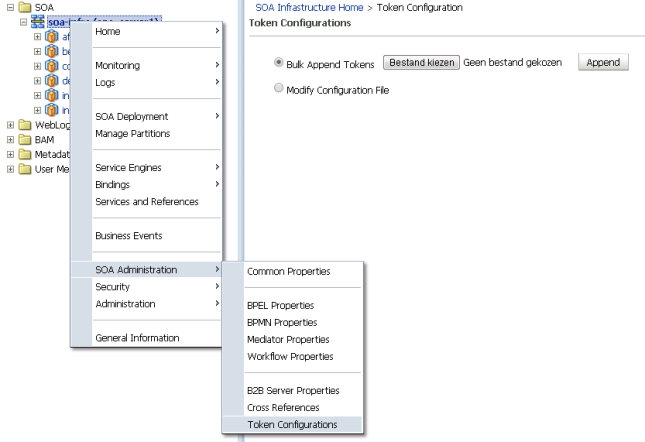 Token Configuration