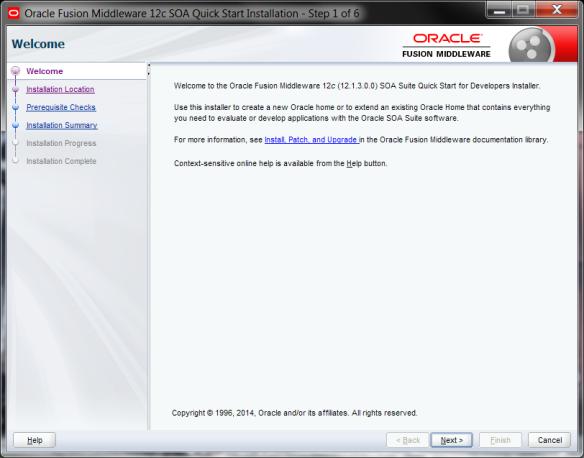 Installing Oracle SOA Suite 12 1 3 for developers | J@n van