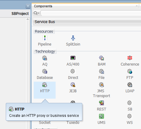 Building a simple Oracle Service Bus 12c HelloWorld service