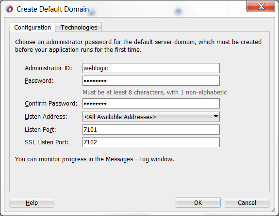How to run and debug Oracle Service Bus 12c services on the