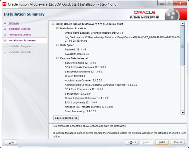 Installing Oracle SOA Suite 12 1 3 for developers   J@n van Zoggel