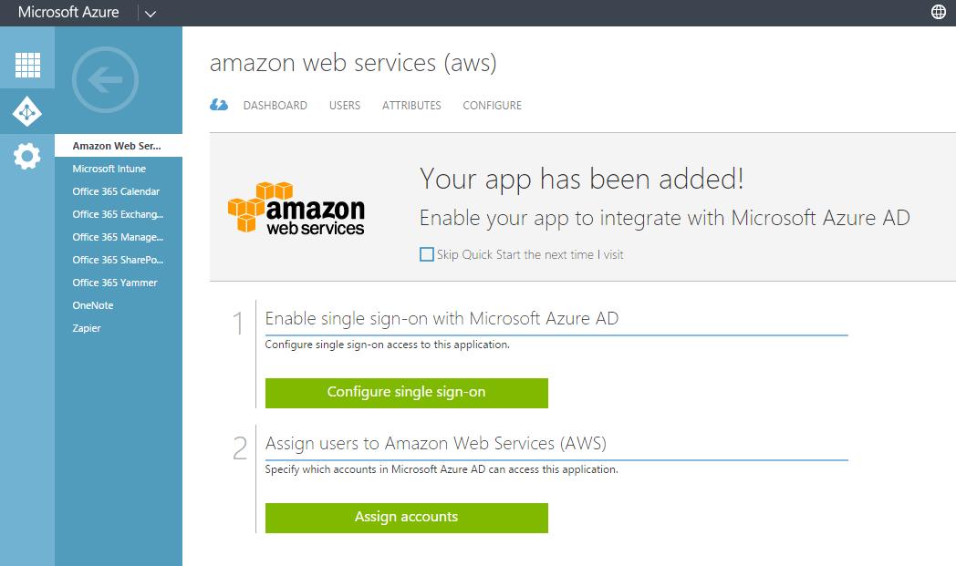 Cloud integration using federation between Microsoft Office