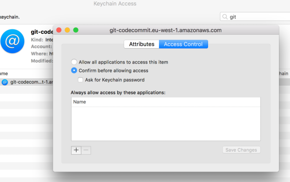 How to push to AWS CodeCommit from Mac OS X | J@n van Zoggel