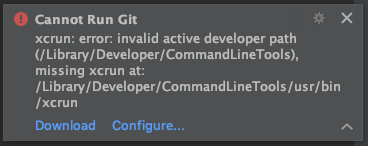 Git not working after macOS update: invalid active developer ...